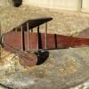 1910s Folk Art Wood Biplane SUPER SALE! 40% OFF!