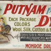 Lithographed Tin Advertising Sign – Putnam Dyes