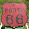 Cool 1940′s ROUTE 66 Sign