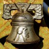 Cast Iron Still Bank – Washington Bell with Yoke