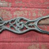 Ornate Victorian Cast Iron Boot Jack