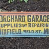 1910-20 Dixfield, Maine Garage Sign
