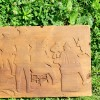 Coming Soon…Folk Art Relief Carved Pine Baseball Game Scene