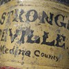 Dated1852 Seville, Ohio General Store Tin