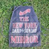 RARE 1920′s Newspaper Seller's Advertising Apron