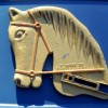 Coin-Op Arcade Ride Metal Horse Head
