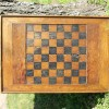 19th Century Folk Art Inlaid & Painted Game Board