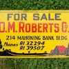 Cool 1940′s Real Estate Sign