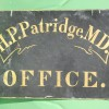 Mid-19th Century Painted Doctor Sign