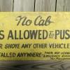 Sedalia, MO Taxi Sign