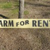 Farm For Rent Sign