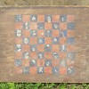 Sweet 19th Century Folk Art Game Board