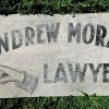 Great Painted LAWYER Sign