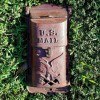19th Century Patriotic Cast Iron Mailbox