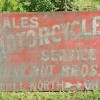 1930s-40s MOTORCYCLES SALES/ SERVICE Sign