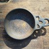 17th Century Child's Cast Iron Porringer