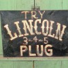 Folk Art Tobacco Sign