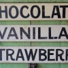 Preview – Three-Piece Set 1920-30′s Ice Cream Signs