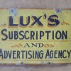 Double Sided LUX'S Sign