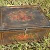 Mid-19th Century Folk Art Painted Box