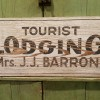 Preview…1910-20s Roadside TOURIST Sign