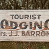 1910-20's TOURIST LODGING Roadsign Sign