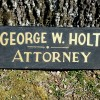19C Double Sided ATTORNEY Sign