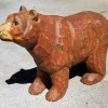 Folk Art Carved Bear