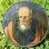 Early 19C Painted Snuff Box