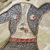 1920s Folk Art Dog Doorstop
