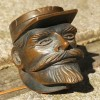 Carved Soldier Pipe