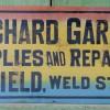 1910s Garage Sign