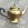 18C Brass Teapot