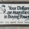 1920 Folk Art Store Sign