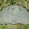 Cast Iron Eagle Panel