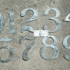 Sign Co. 10″ Tin Number Stencils Full Set