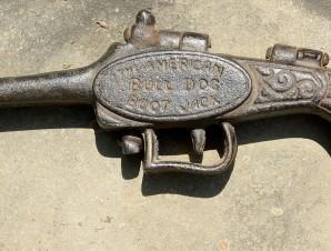 19th Century Folding Pistol Boot Jack   Zachary Miller Antiques