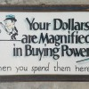 1920 Folk Art Store Sign