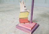 Folk Art Child's Hat Stand