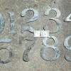 Sign Co. 10″ Tin Number Stencils Full Set