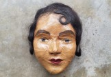 1920s Folk Art Death Mask