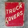 1950's Garage Sign