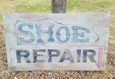 Shoe Repair Sign