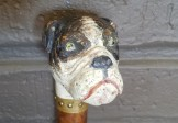 Folk Art Dog Cane