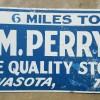 Texas Roadside Store Sign