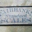 FAIRBANKS SCALES Sign
