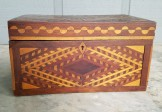 Folk Art Inlaid Box