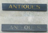 Double Sided ANTIQUES Sign