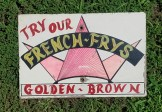 Carnival Fair French Frys Sign