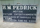1930s Film Distributor Advertising Trunk/ Sign